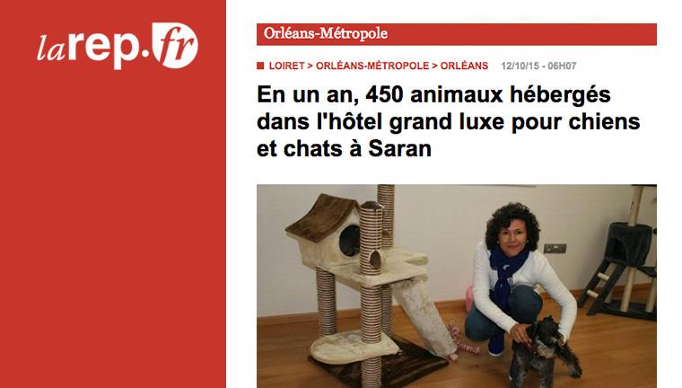 450 animaux hébergés en un an !
