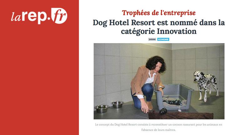 Le Dog Hotel Resort nommé aux Trophées de l'entreprise